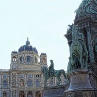 Прогулка по Вене. Музеи. :: Larisa