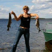 Удачная рыбалка. :: игорь кио