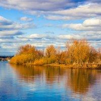 Осенний пейзаж :: Сергей Осин