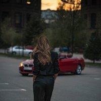 Девушка вечер закат :: Margo Marti