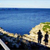 Орешек. Семейный автопортрет на фоне Ладожского озера :: Кай-8 (Ярослав) Забелин