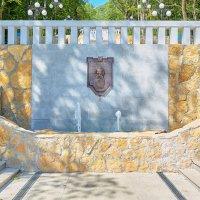Железноводск. Городской парк. Центральная аллея. Каскадная лестница фонтан-водопад :: Николай Николенко