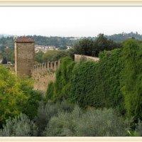 Участок крепостной стены, Флоренция, Италия :: Валентин Соколов