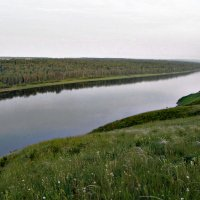 река Томь :: marina ostapova
