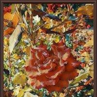 Картина «Осенняя роза» :: Владимир Бровко