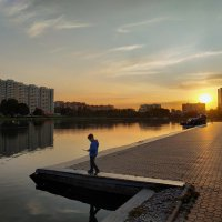 Не пропустить ни одного теплого заката! :: Андрей Лукьянов