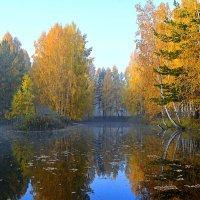 Октябрьское утро :: Геннадий Ячменев