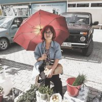 Женшина и зонтик :: minua83 киракосян