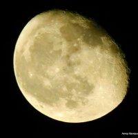 Луна убывающая. :: Валерьян Запорожченко