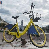 Желтый велосипед :: Валерий Чернов