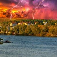 Бабье лето-остров света средь дождей. :: Виктор Малород