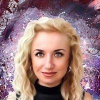 Портрет в стиле дрим арт. :: Светлана Кузнецова