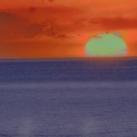 Морской закат 15 :: Роман Попов