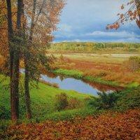 Осень на речке :: sm-lydmila Смородинская