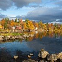 Осень в дачном поселке :: Анатолий ИМХО