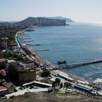 Крым. Вид на море с Генуэзской крепости :: Зинаида Каширина