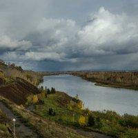 Енисей и облака :: Светлана Винокурова