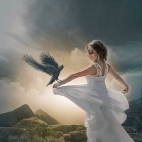 Невеста и ворон. :: Светлана Кузнецова