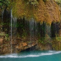Водопад на реке Сулак. :: Дмитрий Сарманов