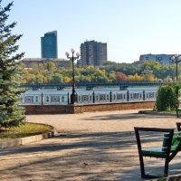 На прогулке в городском парке :: Валерий Тарасов