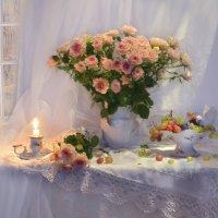Осенние розы прекрасны, как солнце... :: Валентина Колова