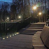Вечером на озере. :: Олег Пучков