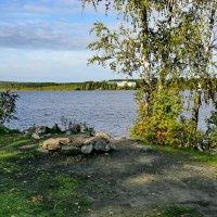 Осенние прогулки на Чусовское озеро 2. :: Пётр Сесекин