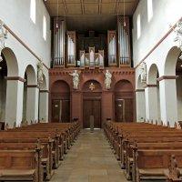Интерьер главного собора бенедиктинского монастыря Зелигенштадта :: Юрий Тихонов