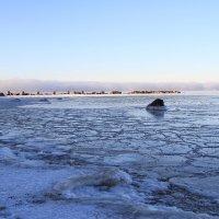 Туман стелится над водой :: Cергей Кочнев