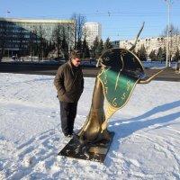 Скульптура Сальвадора Дали в Сибири :: Борис
