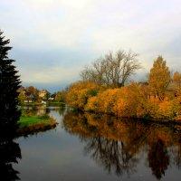 осень на Введенском  ручье :: Сергей Кочнев