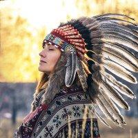 Индейский образ :: Валерий Гришин