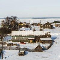 Деревня Ворзогоры у Белого моря. :: Марина Никулина