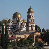 Новоафонский мужской монастырь. Абхазия :: Андрей Вл. Вл.