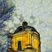 Под влиянием Ван Гога... :: Tatiana Markova