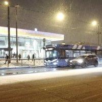 Снегопад в Санкт-Петербурге вечером пятницы :: Митя Дмитрий Митя
