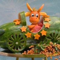 Позитивный арбузик на Новый Год ) ) :: Лара Гамильтон