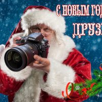 С Новым Годом, друзья! Здоровья, беззаботности и веселья вам, удачи во всех начинаниях :: Владимир Гурьянов