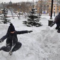 Зима на дворе :: Борис