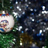 Новогодние игрушки :: Горкун Ольга Николаевна