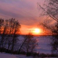 Зимой на реке :: владимир тимошенко