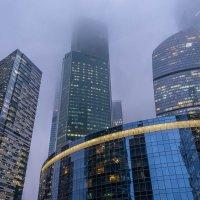 Осень в Москва-Сити :: Александр Орлов
