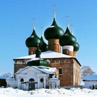 Село Великое. Церковь Рождества Пресвятой Богородицы (1712) :: Евгений Кочуров