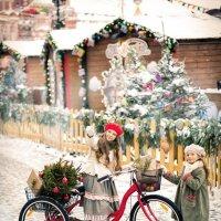 Новогодняя открытка :: Оксана Денина