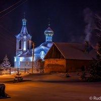 Крещенская ночь в Трегуляе :: Сергей