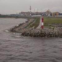 Морская граница Кронштадтского района :: Александр Рябчиков