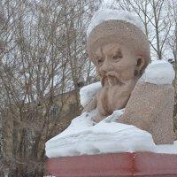 Наши снега,удивляют... :: Георгиевич