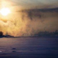 Мороз. Парит :: Denis Makarenko