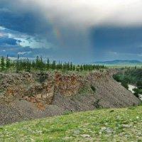 Монголия. У каньона перед грозой :: Галина
