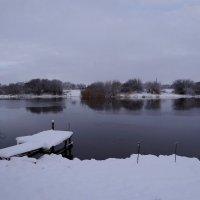 Зимнее утро у реки :: Антонина Гугаева